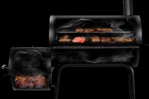 Smoking system on the Royal Gourmet CC18130F