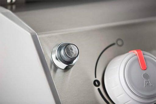 Weber Spirit II E-310 button detail