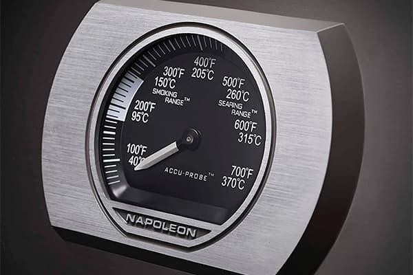 Temperature gauge detail Napoleon P500