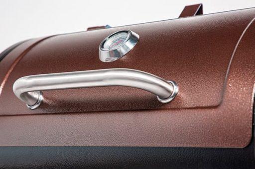 Pit Boss 440D lid detail